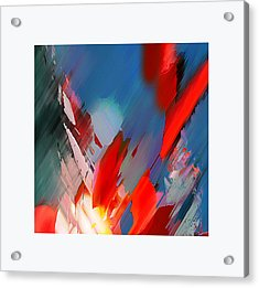 Abstract 11 Acrylic Print by Anil Nene
