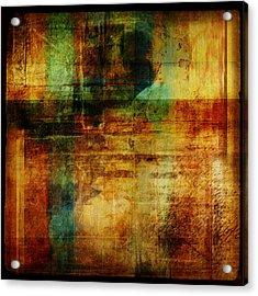 Abstract 1301 Acrylic Print by Mark Preston