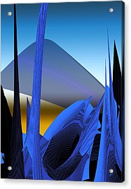 Abstract 200 Acrylic Print