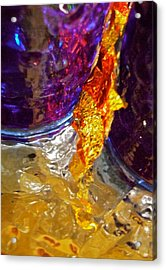 Abstract 3653 Acrylic Print by Stephanie Moore
