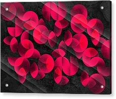 Abstract 4  Acrylic Print by Mark Ashkenazi