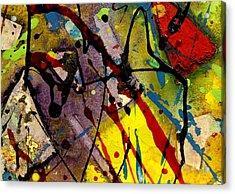 Abstract 53 Acrylic Print by John  Nolan