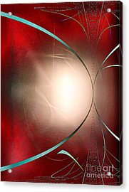 Abstract 550 Acrylic Print by John Krakora