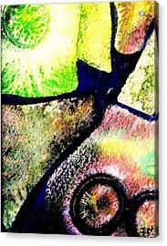Abstract  57 Acrylic Print by John  Nolan