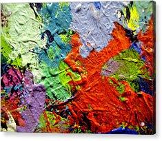 Abstract 7 Acrylic Print by John  Nolan