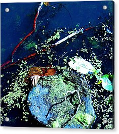 Abstract 79 Acrylic Print by Todd Sherlock