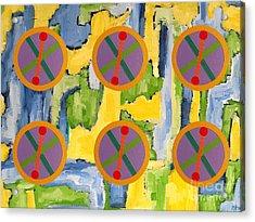 Abstract 82 Acrylic Print by Patrick J Murphy