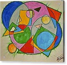 Abstract 89-001 Acrylic Print
