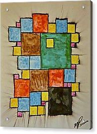 Abstract 89-003 Acrylic Print