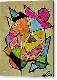 Abstract 89-004 Acrylic Print