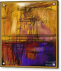 Abstract 970 Acrylic Print by Nedunseralathan R