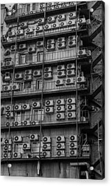 Abstract Air Conditioners Acrylic Print