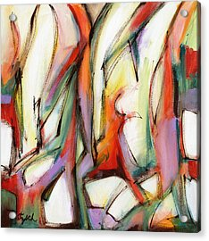 Abstract Art Forty-six Acrylic Print by Lynne Taetzsch