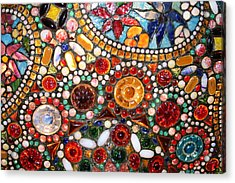 Abstract Beads Acrylic Print