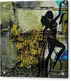 Abstract Belly Dancer 8 Acrylic Print
