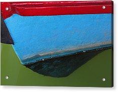 Abstract Boat Bow Acrylic Print