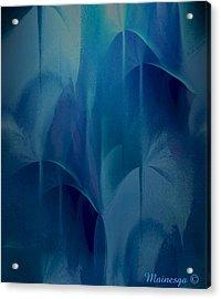 Abstract C-u-r Acrylic Print by Ines Garay-Colomba