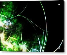 Abstract Acrylic Print by Cameron Rose