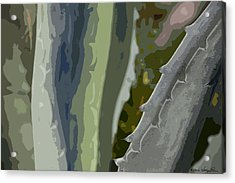 Acrylic Print featuring the photograph Abstract Century I by Kathy Ponce