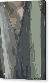Acrylic Print featuring the photograph Abstract Century II by Kathy Ponce