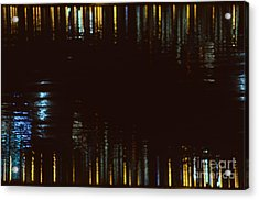 Abstract City Lights Acrylic Print
