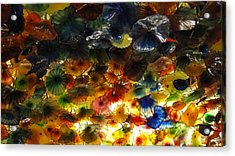 Abstract Color Acrylic Print by Michael Davis