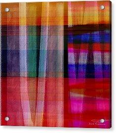 Abstract Cross Lines I Acrylic Print