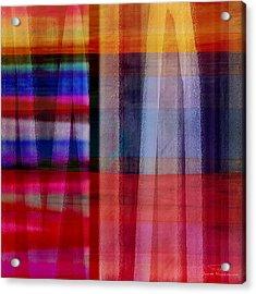 Abstract Cross Lines II Acrylic Print