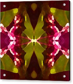 Abstract Crystal Butterfly Acrylic Print by Amy Vangsgard