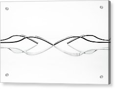 Abstract Cutlery Acrylic Print