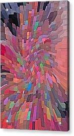 Abstract  Digital  Art Acrylic Print by Carl Deaville