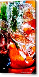 Abstract Drink Acrylic Print by Christopher Holmes