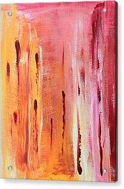 Abstract Drops  Acrylic Print