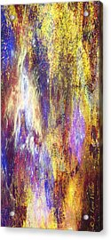 Abstract E - From Series 1 Acrylic Print by J Larry Walker