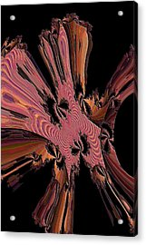 Abstract Explosion Acrylic Print by Jeff Swan