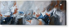 Abstract Expressionist Painting Prints Acrylic Print by Andrada Anghel