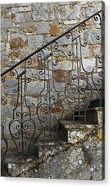 Abstract Exterior  Acrylic Print by Svetlana Sewell