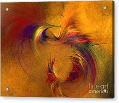 Abstract Fine Art Print High Spirits Acrylic Print