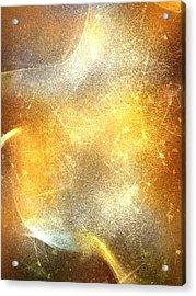Abstract Fire Acrylic Print by Veronica Minozzi