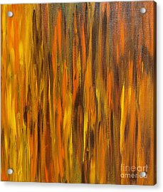 Abstract Fireside Acrylic Print