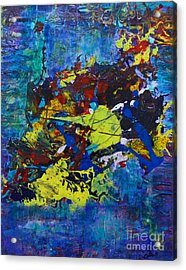 Abstract Fish  Acrylic Print