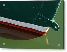 Abstract Fishing Boat Bow Acrylic Print
