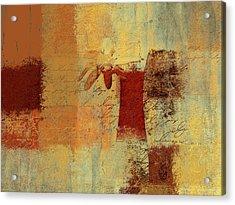 Abstract Floral - 14v4i-t2b2 Acrylic Print