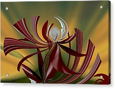 Abstract - Flower Acrylic Print