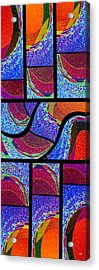 Abstract Fusion 168 Acrylic Print by Will Borden