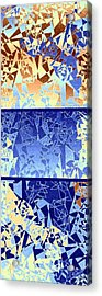 Abstract Fusion 194 Acrylic Print by Will Borden