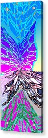 Abstract Fusion 196 Acrylic Print by Will Borden