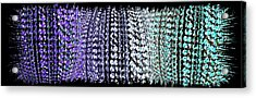 Abstract Fusion 219 Acrylic Print by Will Borden