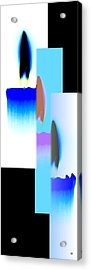 Abstract Fusion 220 Acrylic Print by Will Borden
