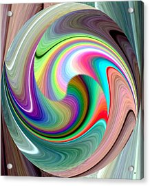 Abstract Fusion 241 Acrylic Print